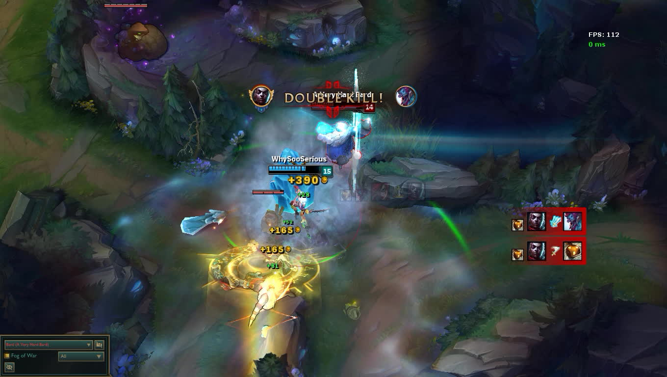 bardmains, [League Of Legends] Playing With Kata! GIFs