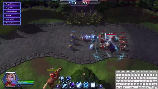 Watch and share Jaina Combo Arthas GIFs on Gfycat