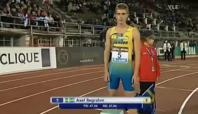 Watch and share 400m - Ruotsi-ottelu - Finnkampen - 2011 GIFs on Gfycat