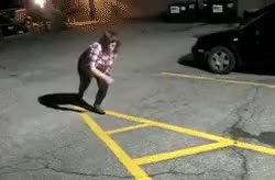 Watch Taking out the trash : IdiotsFightingThings GIF on Gfycat. Discover more related GIFs on Gfycat