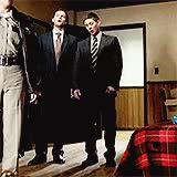 Watch dancing with the demons in our minds GIF on Gfycat. Discover more dean, dean winchester, gag reel, jensen, jensen ackles, mine, myedit, s10, s10 gag reel, season 10, season 10 gag reel, spn, spnedit, supernatural, supernatural edit GIFs on Gfycat