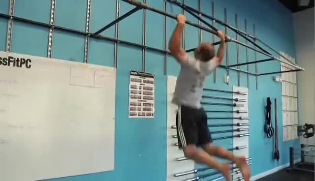 "Watch CrossFit ""Pullups"" GIF on Gfycat. Discover more fail, pull-up GIFs on Gfycat"