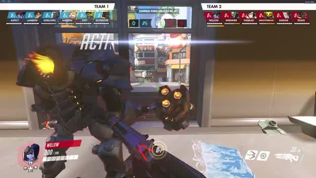 Watch and share Overwatch GIFs by will on Gfycat