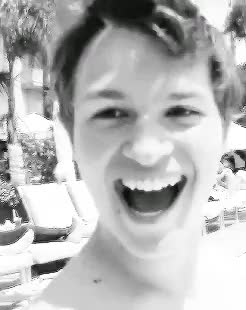 Watch ansel elgort GIF on Gfycat. Discover more ansel elgort, baby angel, gifs, instagram, little piece of shit GIFs on Gfycat