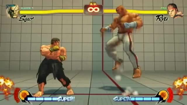 Watch Street Fighter 4: Sagat Combo Video GIF by EventHubs (@eventhubs) on Gfycat. Discover more muay, streetfighter, thai GIFs on Gfycat
