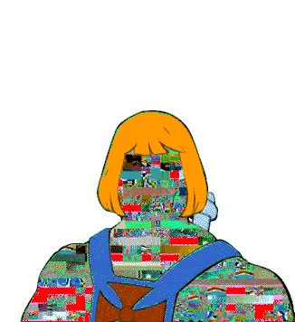 Watch and share Masters Of The Universe Glitch Art Gif GIFs on Gfycat
