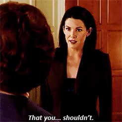 Watch and share Lorelai Gilmore GIFs and Emily Gilmore GIFs on Gfycat