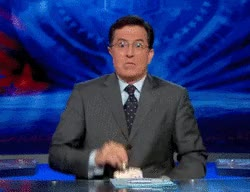 Watch and share Stephen Colbert GIFs and Entertained GIFs by Reactions on Gfycat