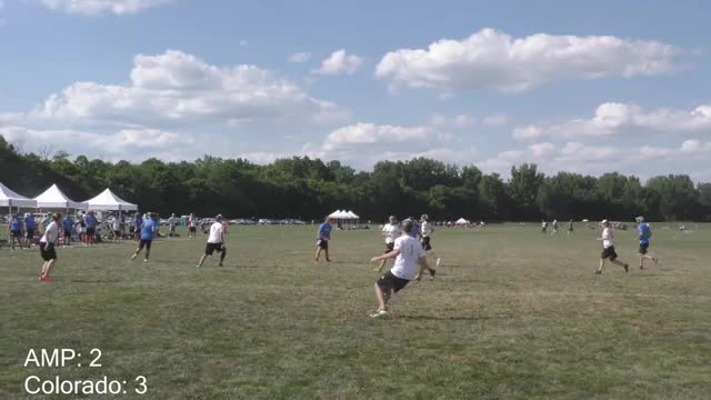 Watch Philadelphia AMP(USA) vs Colorado(GER)  | 2018 WUCC Mixed Pre-Quarter GIF on Gfycat. Discover more Akshat Rajan, Film & Animation, ultimate GIFs on Gfycat