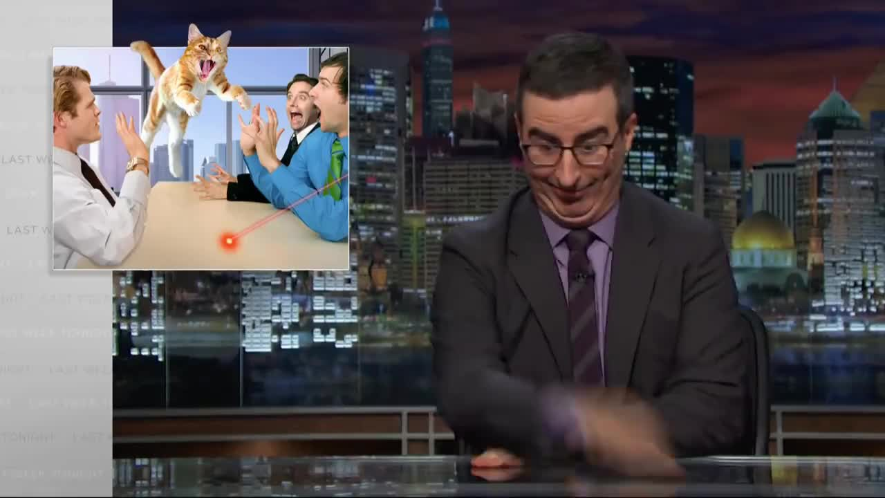 John, cat, john oliver, johnoliver, retirement, John Oliver in his natural state GIFs