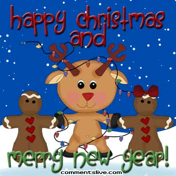 Watch and share Merry Christmas Merry New Year Picture GIFs on Gfycat