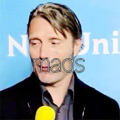Watch Mads Mikkelsen GIF on Gfycat. Discover more birthday post, edits, mads mikkelsen GIFs on Gfycat