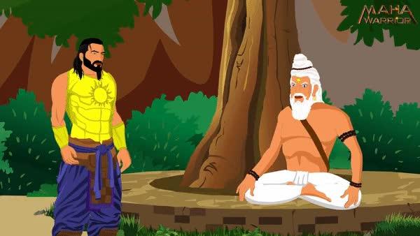 Watch and share Karn Arjun Fight GIFs and Mahabharat Karan GIFs by Sakshi Garg on Gfycat