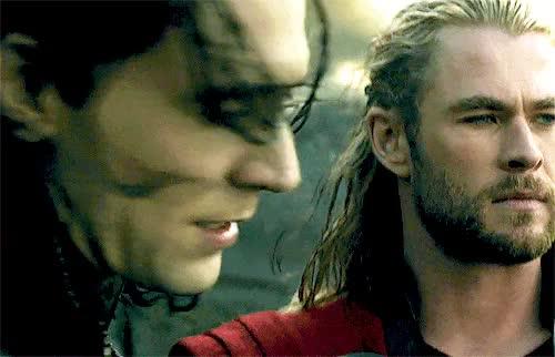 HIS HAIR. tr2 tom hiddleston thor the dark world mygif loki laufeyson GIF