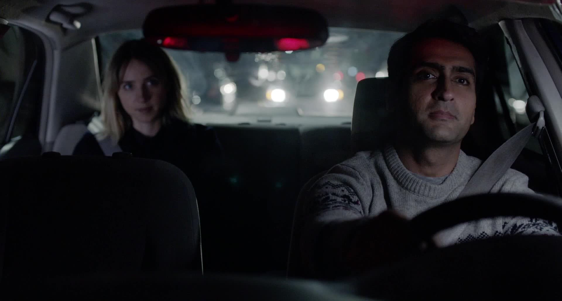 Lionsgate, Romance, The Big Sick, TheBigSick, comedy, lionsgate, movie, romance, romantic, the big sick, thebigsick, The awkward car ride GIFs