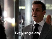 Watch and share Suits, Harvey Specter, Gabriel Macht, Lawyer, Man GIFs on Gfycat