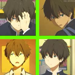 Watch Yui-Animes GIF on Gfycat. Discover more Houtarou, Hyouka, Oreki, Oreki Houtarou, animes, photoset, yuianimes GIFs on Gfycat