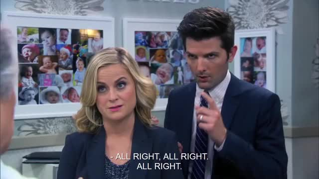 Watch and share Amy Poehler GIFs and Adam Scott GIFs on Gfycat