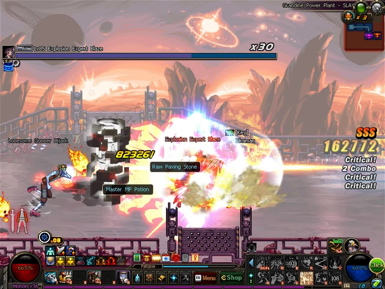 60fps, DFO, MMORPG, DFO Hell Mode Vol.36 GIFs