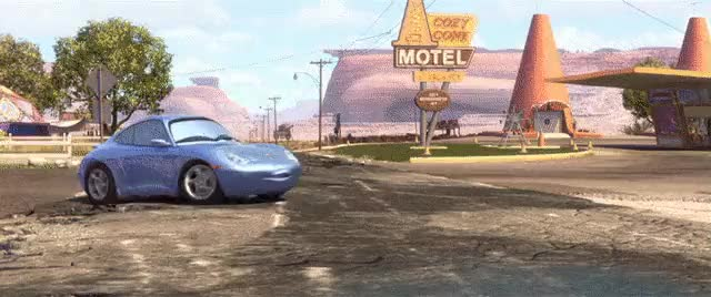 "Watch and share In ""Cars"" The Truck Stop Advertises ""convertible Waitresses"". Topless. (reddit) GIFs by chemicalole on Gfycat"