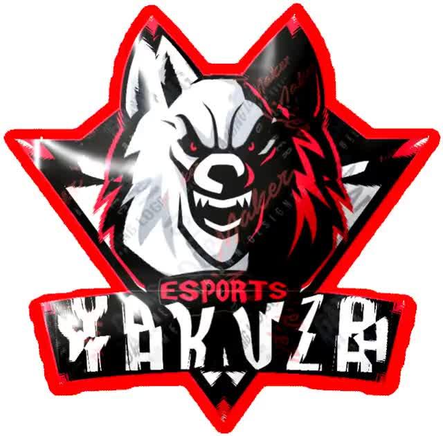 Watch and share YAKUZAESPORT LOGO animated stickers on Gfycat