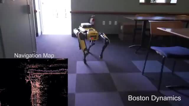 Watch SpotMini Autonomous Navigation GIF on Gfycat. Discover more related GIFs on Gfycat