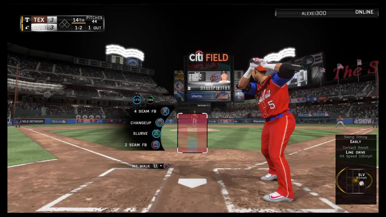 MLBTheShow, dashboard, Bottom of the 14th. I went on to win in the 21st (reddit) GIFs