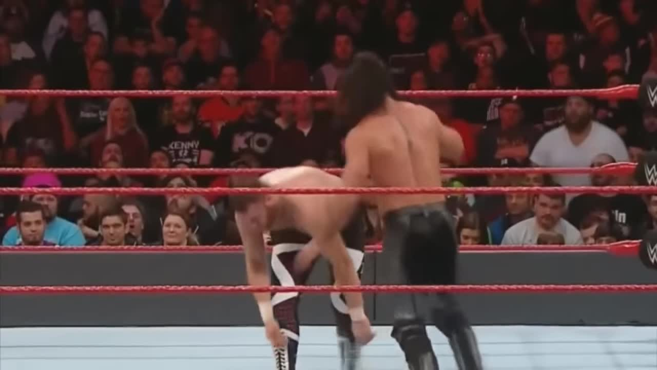 Seth Rollins use NJPW style moves Raw GIFs