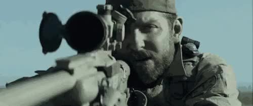 Watch this trending GIF on Gfycat. Discover more 2015, Bradley Cooper, airborne, american sniper, buds, chris kyle, hollywood movies, marine corps, military, movie, navy seal, rangers, sniper, sniping, usa GIFs on Gfycat