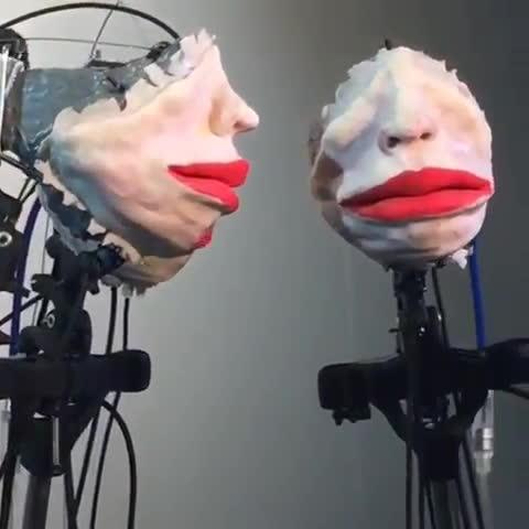 oddlyterrifying, shittyrobots, Choir, by Server Demirtas GIFs