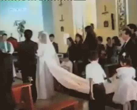 Watch and share Brother Being A Jerk Creates An Embarrassing Wedding Moment (reddit) GIFs by markovmaniac on Gfycat
