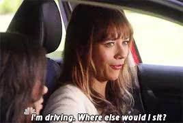 Watch and share Rashida Jones GIFs and Driving GIFs on Gfycat