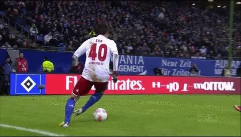 Watch and share Heung-Min Son. Hamburger - Werder Bremen. 27.01.2013 GIFs by fatalali on Gfycat
