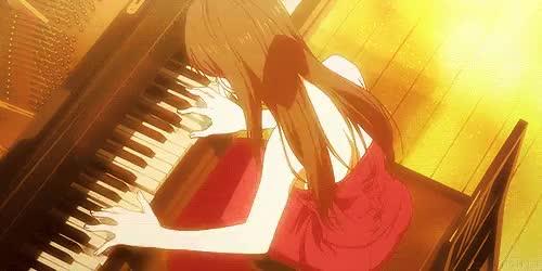 Watch Emi Igawa from Shigatsu wa Kimi no Uso  GIF on Gfycat. Discover more anime, emi, emi igawa, gif, pianist, piano, quote, shigatsu, shigatsu wa kimi no uso, your lie in april GIFs on Gfycat