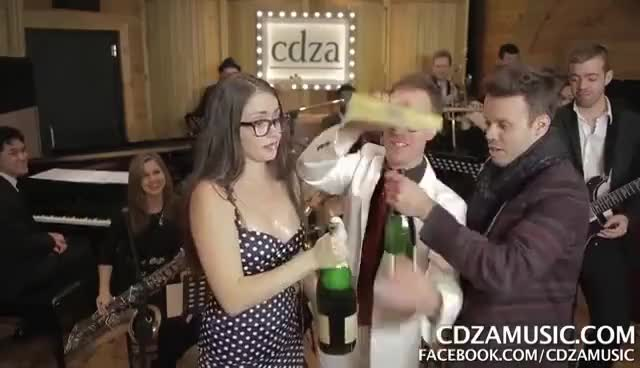 Watch and share Champagne GIFs and Funny GIFs on Gfycat