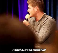 Watch and share Jensen Ackles GIFs and Fun GIFs on Gfycat