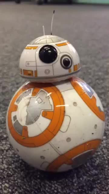Watch and share BB-8 GIFs on Gfycat