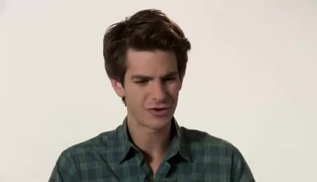Watch and share Andrew Garfield GIFs and Interview GIFs on Gfycat
