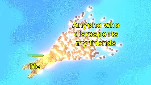 ship out of luck, bestfriends, bestfriendsforever, bff, dontmesswithmyfriends, friends, friendship, loyalty, shipoutofluck, truefriendship, Me vs. anyone who disrespects my friends GIFs