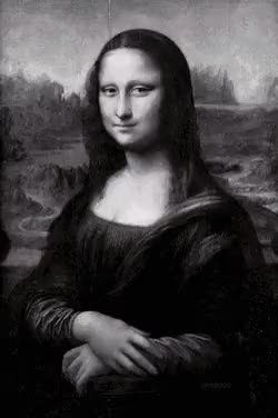 Watch and share Monalisa GIFs and Creepy GIFs on Gfycat