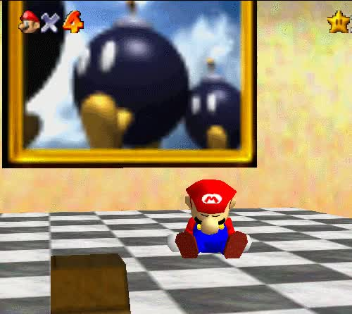 Watch Super Mario 64, Nintendo 64. GIF on Gfycat. Discover more animated, gif, n64, nintendo, nintendo 64, super mario, super mario 64, vgjunk GIFs on Gfycat