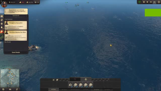 "Watch and share Anno 1800 Campaign ""Emergency Evacuation"" Bug. 2019.04.16 - 22.36.51.10 GIFs by syfer3k on Gfycat"