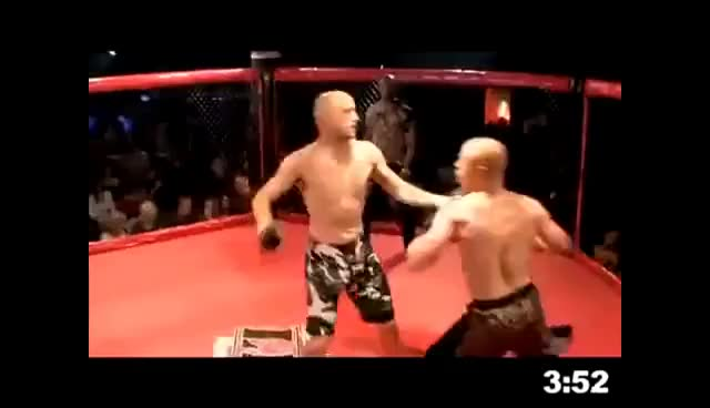 Watch and share DOUBLE KNOCKOUT GIFs on Gfycat