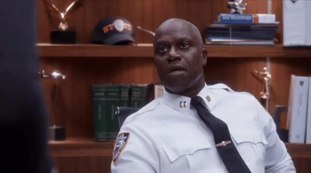 Watch and share Andre Braugher GIFs and Brooklyn 99 GIFs by jaxspider on Gfycat
