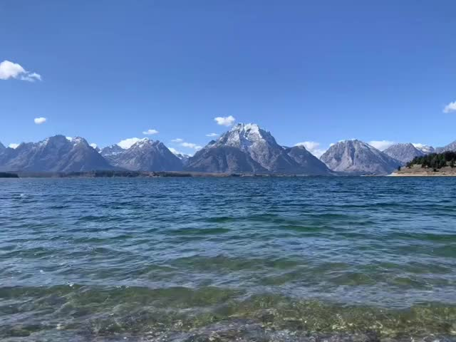 Watch and share Jackson Lake, WY GIFs on Gfycat