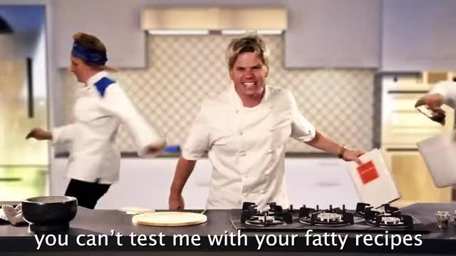 Watch Gordon Ramsay vs Julia Child. Epic Rap Battles of History GIF on Gfycat. Discover more ERB GIFs on Gfycat