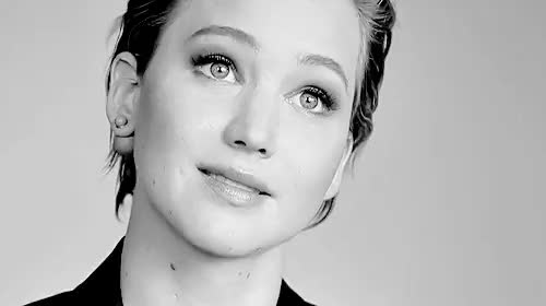 Watch this jennifer lawrence GIF on Gfycat. Discover more bw, by alex, gifs, jennifer lawrence, jlawedit, perfect eyebrows, photoshoot GIFs on Gfycat