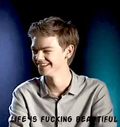Watch and share The Maze Runner GIFs and Thomas Sangster GIFs on Gfycat