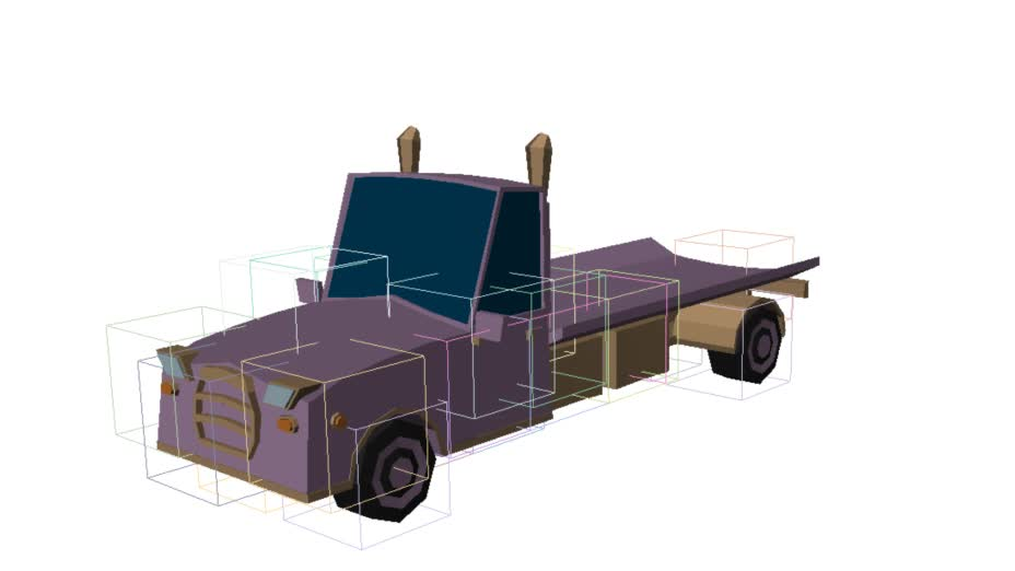 proceduralgeneration, Experimental car generator 2 GIFs