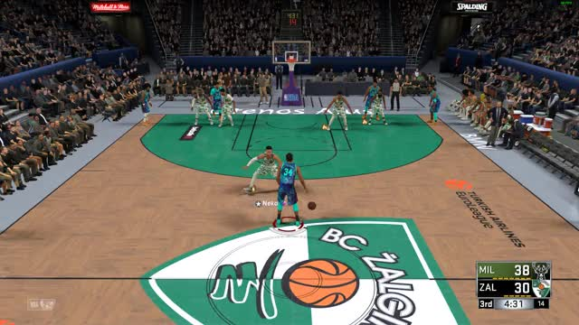 Watch and share Milwaukee Bucks GIFs and Basketball GIFs by nk-iwnl- on Gfycat